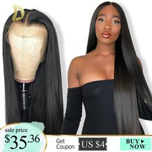 Short Lace Front Human Hair Wigs Bob Wig For Black Women Brazilian Natural Long Straight Afro Swiss Lace Frontal Wig Preplucked