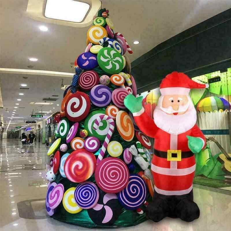 INFLATABLE CHRISTMAS ELF 45 CM GREEN XMAS PARTY DECORATION