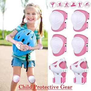 Protective-Gear-Set Bike Skate Sports-Safety Outdoor Scooter Children's