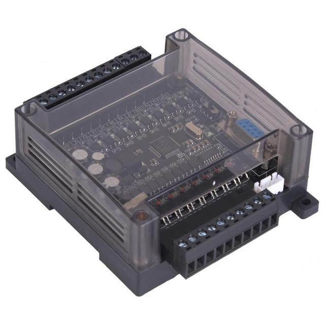 Controllore logico programmabile PLC FX1N 20MT scheda di controllo industriale con Shell DC 22V 28V