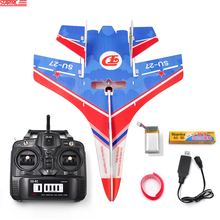 Fixed Wing SU-27 with 2.4G 6CH Remote Controller For RC Glider Fixed Wing