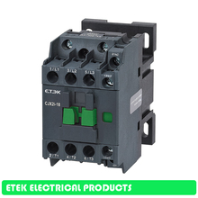 CJX2i-12  AC Contactor    3-Phase DIN Rail Mount Electric Power Contactor manhua gmc 32 3 phase ac electrical magnetic contactor control power signal