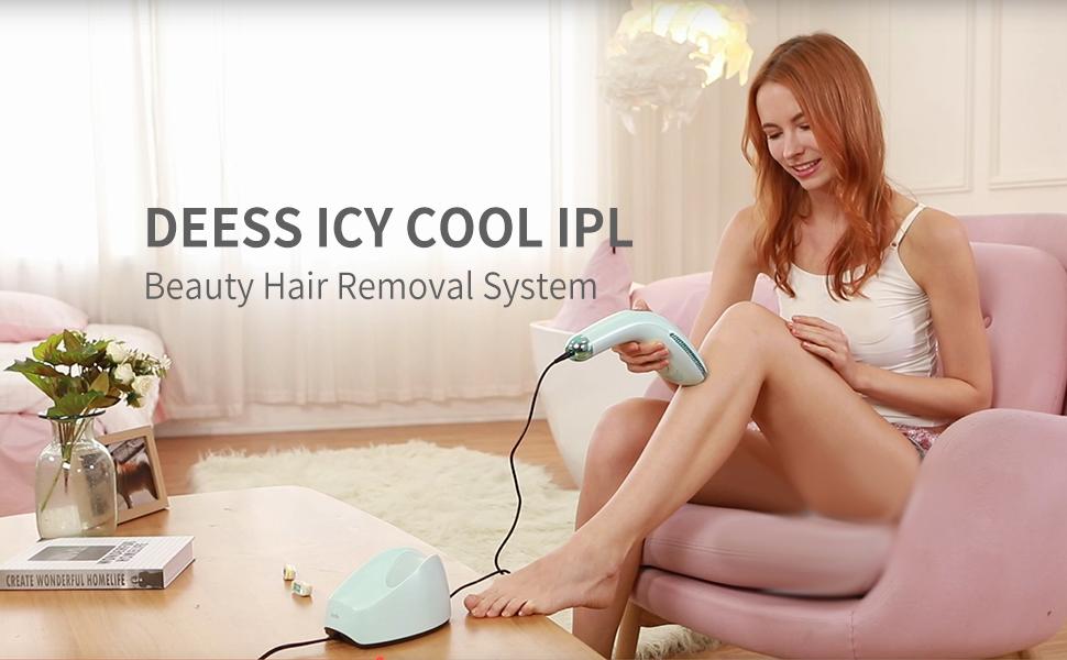 DEESS Gp590 hair removal