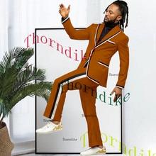 Suit Wedding-Suits Mens Tuxedos-Set Custom-Made Business Groom Thorndike Jacket--Pants