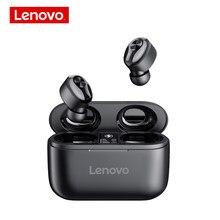 Lenovo HT18 prawdziwe bezprzewodowe słuchawki TWS sterowanie dotykowe sportowe słuchawki douszne słuchawki Bluetooth HIFI Stereo redukcja szumów