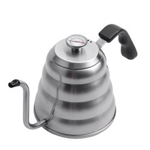 Premium Pour Over Coffee Kettle with for Precise Temperature 40floz - Gooseneck Tea Kettle - 5 Cup Stainless Steel Teapot for St(China)