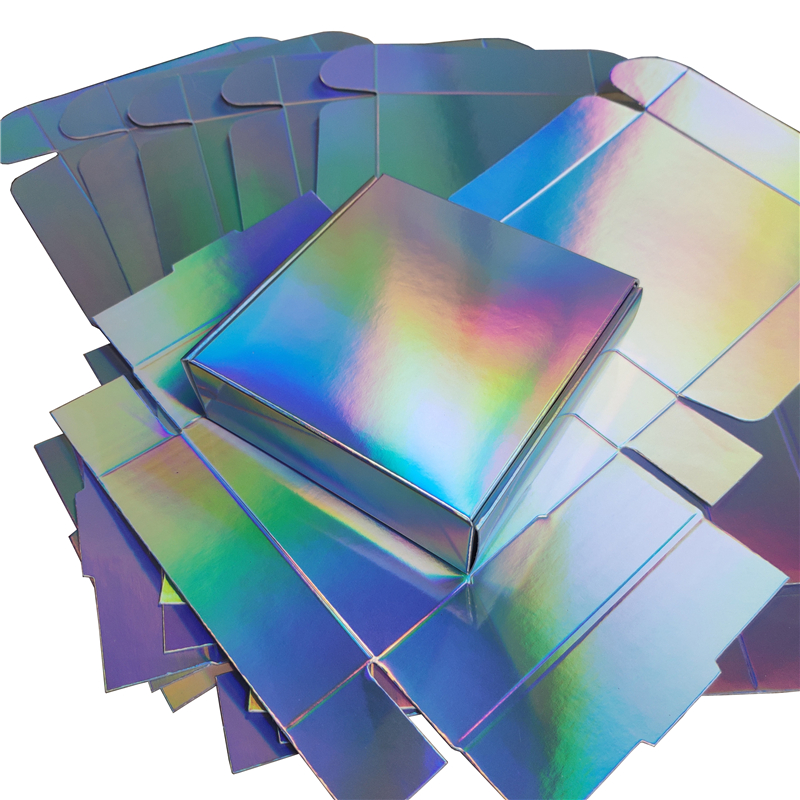Box 20pcs For Souvenir Box Holographic 2 Available Size Party Gift Lot Wedding