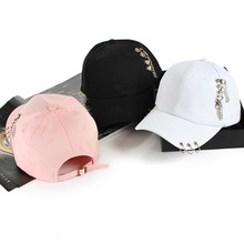 Baseball-Cap Rings Trucker-Hat Golf-Ball Kpop Snapback Sport Women Fashion Casual Adjustable