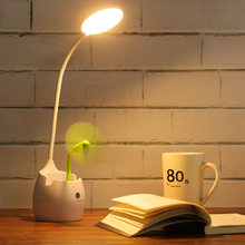 Cubby Lamp Eye Protection Desk College Student Mobile Phone Bracket Charging LED Dormitory Learning Children Young STUDENT'S Doi(China)