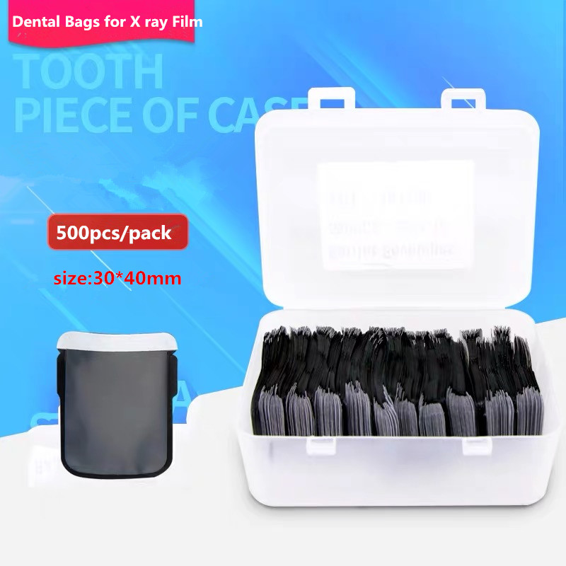 500Pcs/pack Dental Consumables Materials Dental Barrier Envelopes Dental Bags For X-ray Film 2# X-ray Film Bags Dentist Tools