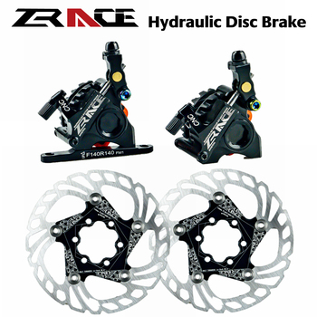 цена на ZRACE BR-002 Cable Actuated Hydraulic Disc Brake For Road Cyclo-cross CX bike, CycloCross