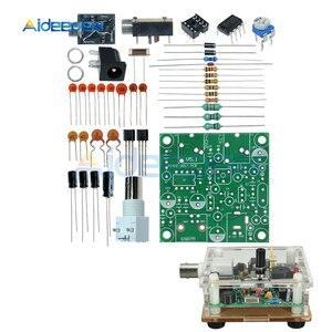 S-PIXIE CW QRP Super court ondes Radio émetteur-récepteur Radio 7.023khz bricolage Kits avec étui en acrylique Transparent