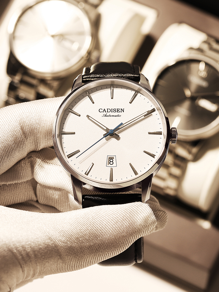 CADISEN Automatic Watches Mechanical-Watch Japan Movement NH35A Luxury Business-Wrist