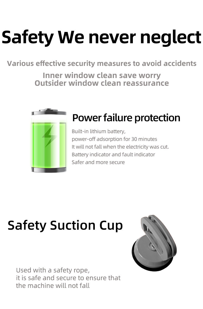 App Control Robot Window Cleaner and High-Altitude Window Cleaning Robot with Path Planning 14