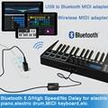 Музыкальный редактор DOREMiDi беспроводной Bluetooth MIDI-адаптер MIDI-USB к беспроводной Bluetooth MIDI-адаптер MIDI кабель MIDI