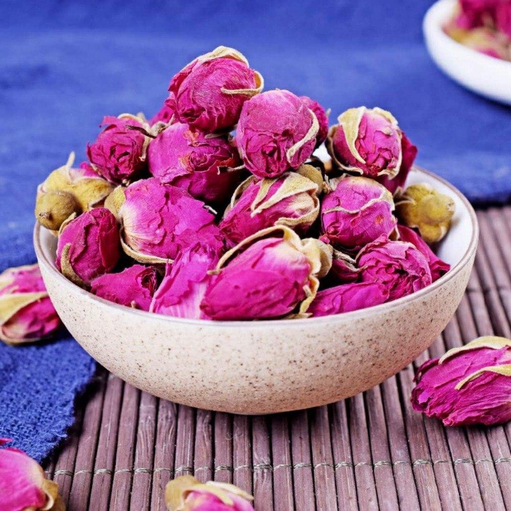 Rose Tea Dried Roses Pingyin Roses Edible Rose Tea Fresh Natural Buds Bulk 2