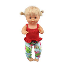 2020 vestido boneca nenuco de 42 cm, recém chegada, boneca de 17 polegadas, roupa para boneca de bebê
