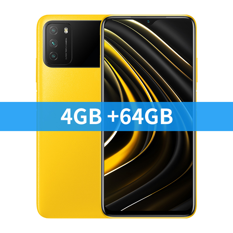 4GB 64GB Yellow