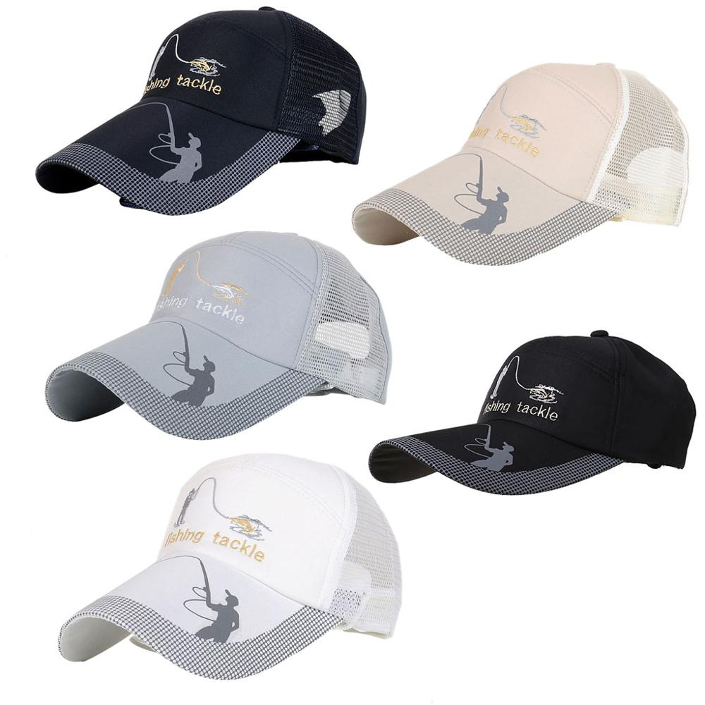Leopard Baseball Cap Breathable Eyelets Hip-Hop Adjustable Snapback Trucker Hat