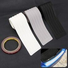Car Styling Rear Bumper Scuff Cover Sticker For Mazda 3 5 Atenza CX 4 CX 5 CX 7 CX 9 Seat Toledo 4 Leon Ateca Arona Accessories