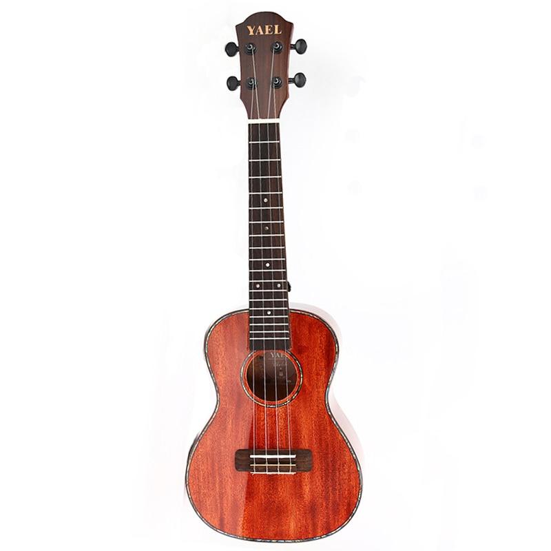 23 inch Folk Ukulele Soprano 4-string Mini Guitar Rose Wooden Board Light Ukulele Concert Beginner Guitarra UK2335