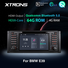 Xtrons Qualcomm Bluetooth 5.0 Android 10.0 PX6 Auto Stereo Radio Dvd speler Gps Voor Bmw E39 1995 2003 M5