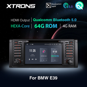 Image 1 - Xtrons Qualcomm Bluetooth 5.0 Android 10.0 PX6 Auto Stereo Radio Dvd speler Gps Voor Bmw E39 1995 2003 M5