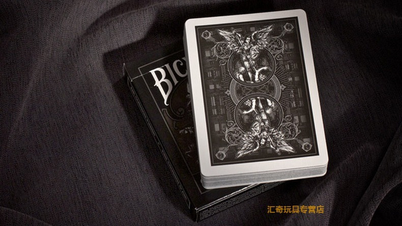 Hui Qi Poker Guardian Angel Single License Plate Theory11 Bicycle Guardians Playing Cards