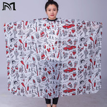 3 PC 140*160CM Hairdresser Capes Salon Barber Cutting Hair Waterproof Cloth Gown Cape Dresser Wrap
