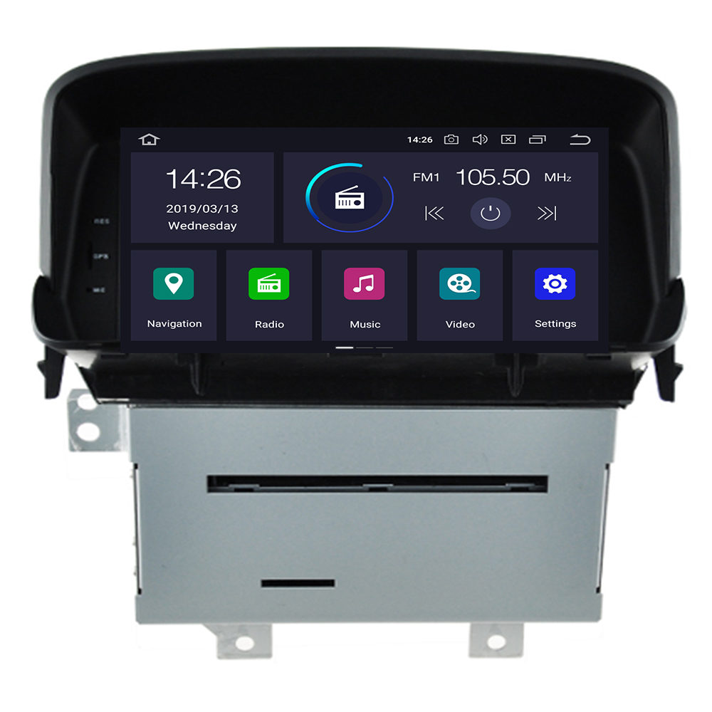 Android 9.0 Auto DVD Player Fü<font><b>r</b></font> OPEL <font><b>MOKKA</b></font> WIFI Multimedia GPS Navigation Stereo 2 Din Auto Radio Autoaudio Video Player image