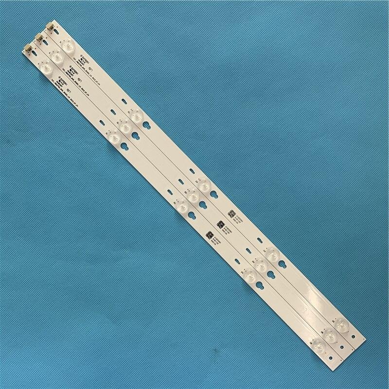 LED Backlight Strip 5 Lamp For Philco PH43E30DSGW PH43E60DSGW Bars Line Kit LED Bands Array 5800-W43001-5P00 3P00 Tv Parts