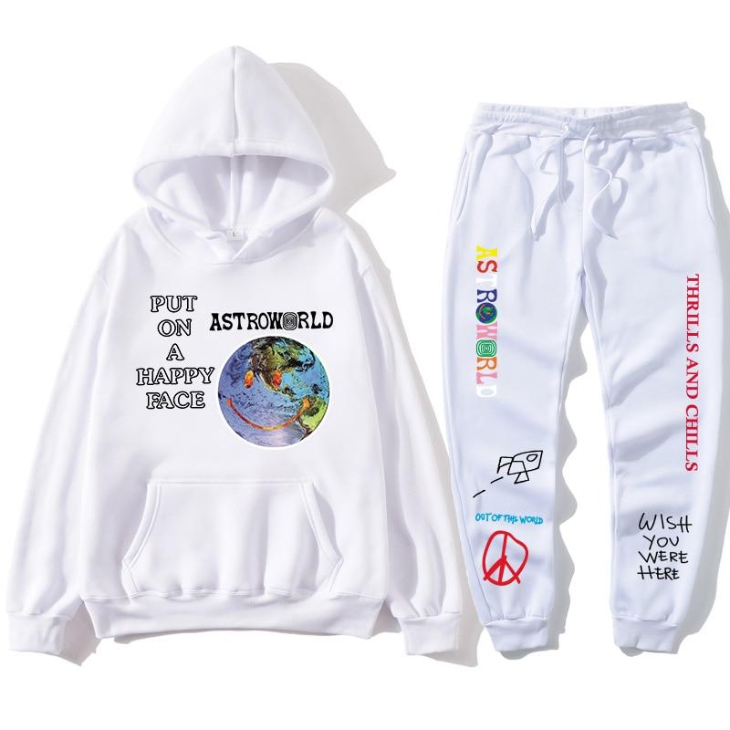 multiple colour Hip-hop Streetwear TRAVIS SCOTT ASTROWORLD Hoodie Sweatshirt Man and woman fashion Rich and interesting Hoodies