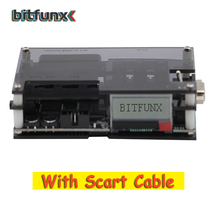 Bitfunx Ossc Hdmi Converter Kit Transparant Zwart Voor Retro Game Console Nieuwe Update Kit Met Scart Kabel