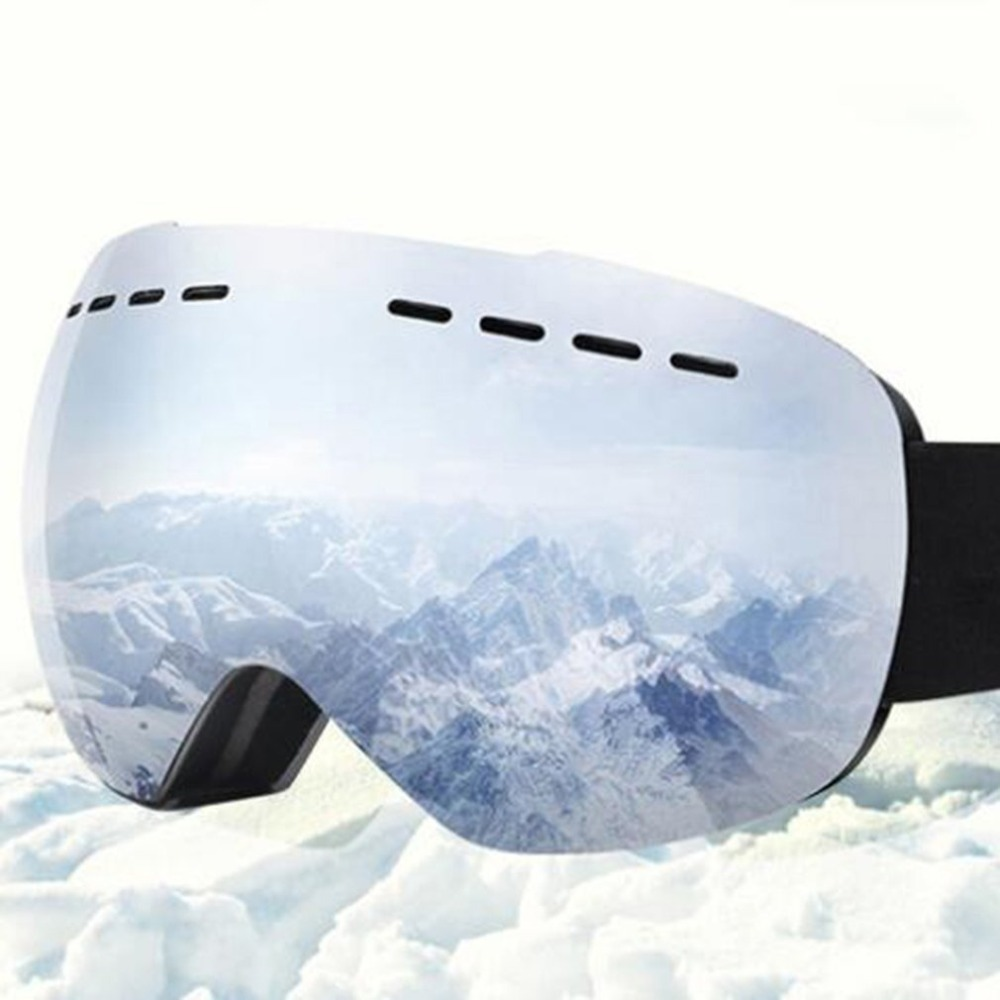 Ski Goggles Anti-fog Mirrored Lens Snowboard Snow Goggles For Men Women Youth For Skating Snowmobile 2018 Hot Sale