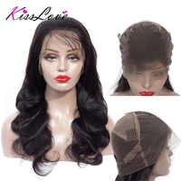 Körper Welle Volle Spitze Menschliches Haar Perücken für Schwarze Frauen Brazilian Perücken Remy Haar Vor Gezupft Gebleichte Knoten Volle Ende kuss Liebe