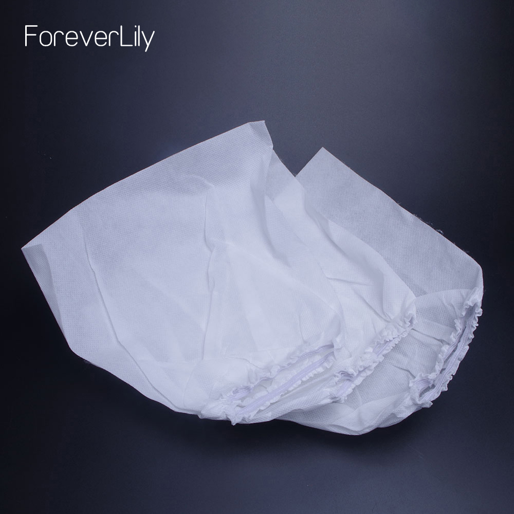 3pcs/5pcs Replacement Nail Dust Collector Packs White Non-woven Nail Dust Collector Bag For Nail Art Dust Suction Collector Use