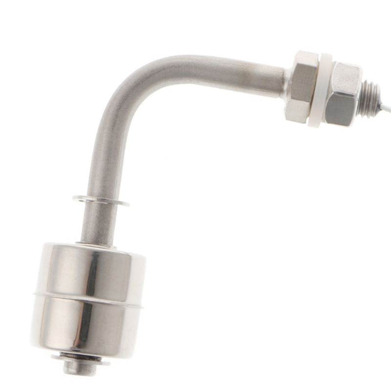 Горячая XD-Поплавковый выключатель из нержавеющей стали с прямым углом и вертикальной головкой, датчик уровня резервуара для жидкой воды