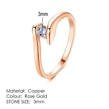 Μονόπετρο δαχτυλίδι Δαχτυλίδια Κοσμήματα Αξεσουάρ MSOW