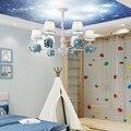 Светодиодный светильник белого цвета  потолочные светильники с изображением животных  детская спальня