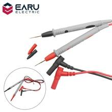 Broche de fils de Test de sonde universelle, 1 paire, pour multimètre numérique, pointe daiguille, multi mètre de Test, câble de stylo de fil, 20A