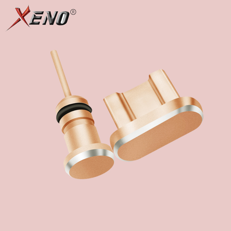 Dust Proof Plugs 3.5mm Earphone Micro accessories USB Charge Port Plug Cap For Samsung Xiaomi VIVO OPPO Android Phone SIM Needle