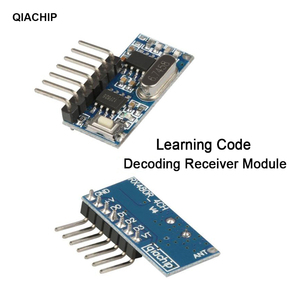 Image 5 - QIACHIP 433Mhz RF Receiver Learning Code Decoder Module 433 mhz Wireless 4 CH output For Remote Controls 1527 2262 encoding