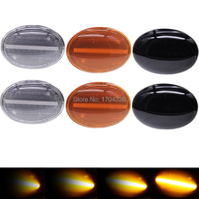 2x Flowing Side Repeater Lamp Dynamic LED Side Marker Light Indicator For BMW MINI Cooper R55 R56 R57 R58 R59 CL-R56-LSM-SM цена