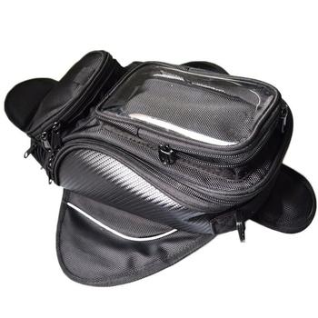 Bolsa de depósito de combustible para la motocicleta, bolsa con depósito para motocicleta, bolso para motocicleta, bolso imán para montar, bolso con pantalla grande sin estándar
