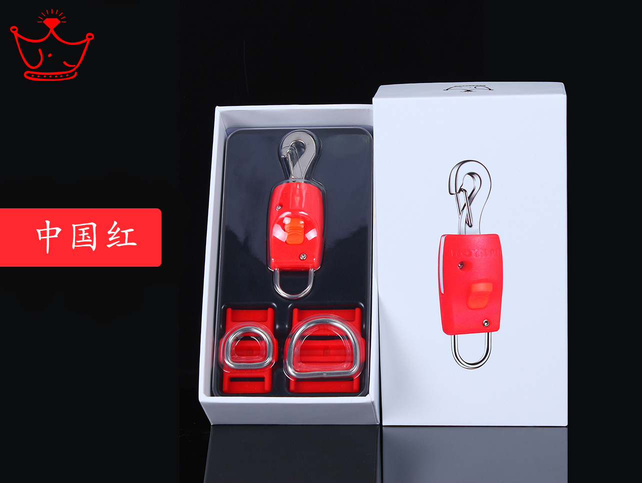 Dog Hand Holding Rope Magic Buckle Chong Wu Kou Hand Holding Rope For Automatic Connection Dog Buckle