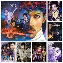 Diamond Painting Rock Singer Prince Purple Rain Full Embroidery Drill Cross Stitch 5D DIY Rhinestone Home Decor New Arrival