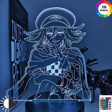 Danganronpa luz conduzida da noite kokichi oma lâmpada para decoração de casa presente criança danganronpa acrílico lâmpada mesa kokichi oma