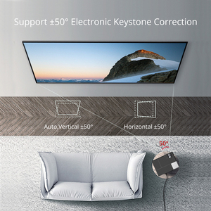 Image 3 - Everycom M9 CL770 Inheemse 1080P Full Hd 4K Projector Led Multimedia Systeem Beamer 6800 Lumen Auto Keystone Thuis cinema Speaker * 2