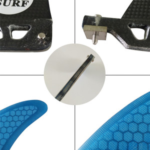 "Image 4 - 9 inch firberglass carbon single fin 6""7""8"" surfboard sup fin longboard fin 8"
