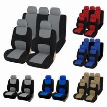 AUTOYOUTH housse de siège universelle pour voiture en tissu Unique, couvre couvre sièges amovibles et banc solide, accessoires dintérieur